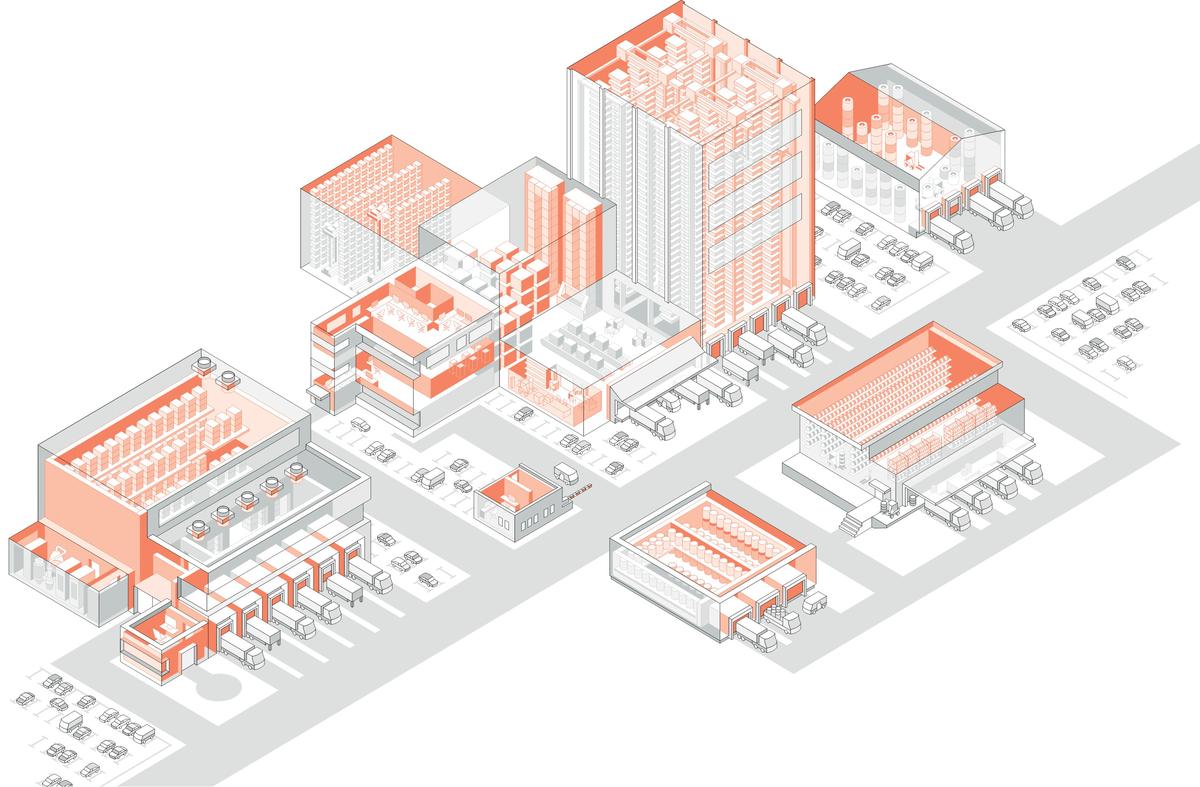 Abbildung Schutzbereiche Logistikzentren