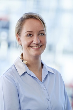 Photo of a Team Leader in Strategic Purchasing named Bettina