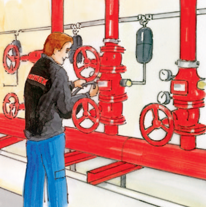 Scope of services Maintenance Valve stations