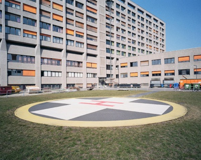 Helicopter landing pads