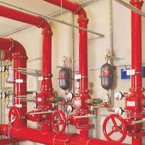 Sprinkler Systems for production halls