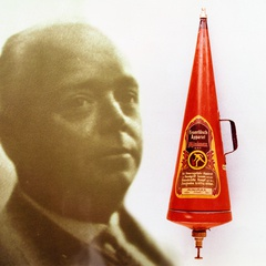 Company founder Wilhelm Graaff has launched the fire extinguisher