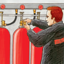Scope of service special extinguishing systems
