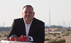 Photo of an office manager named Jörg-Frederic in Dubai