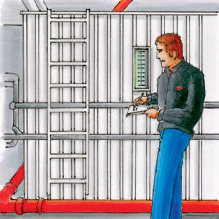 Abbildung Probleme Funktionsfähigkeit Sprinkleranlagen