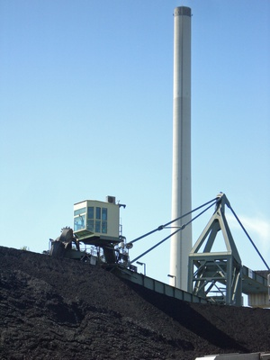 Dumps and coal bunkers