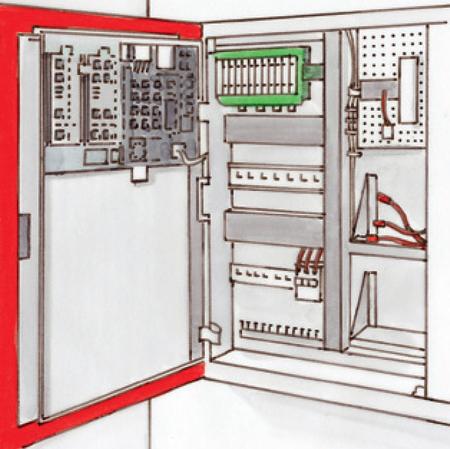 Elektronische Schaltschrank ESS 5000 M+