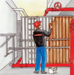Leistungsumfang zur Sanierung von Wasservorratsbehältern