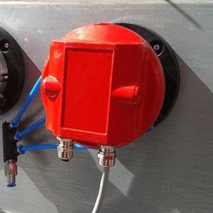 Abbildung eines UniVario Flammenmelder und Funkenmelder