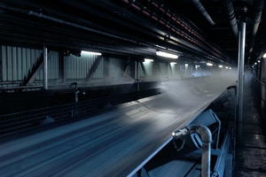 Coal conveyor-belt systems