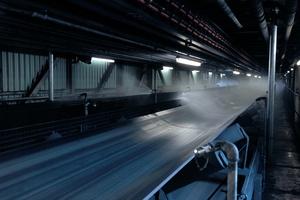 Coal conveyor-belt systems