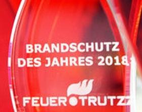 Preisgekrönter FeuerTRUTZ dank hoher Wirtschaftlichkeit und effizientem Brandschutz