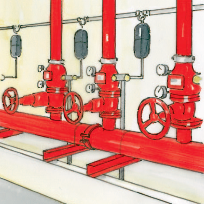 Drawing maintenance of the valve stations