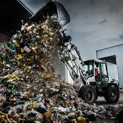 Image of recycling plants