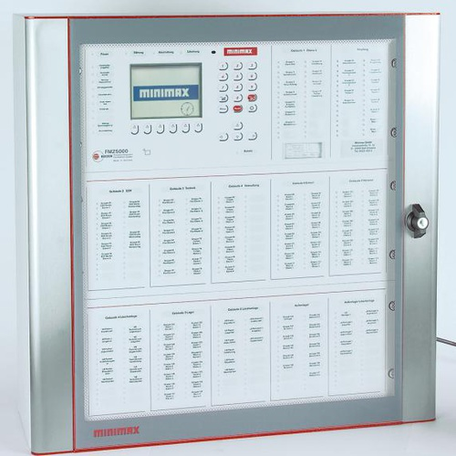 Fire detection and extinguishing control technology using the Oxeo extinguishing system