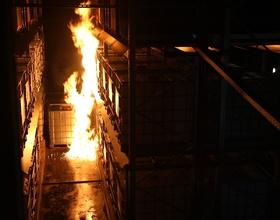 Sprinkler-Schutzkonzept für Gefahrstofflager
