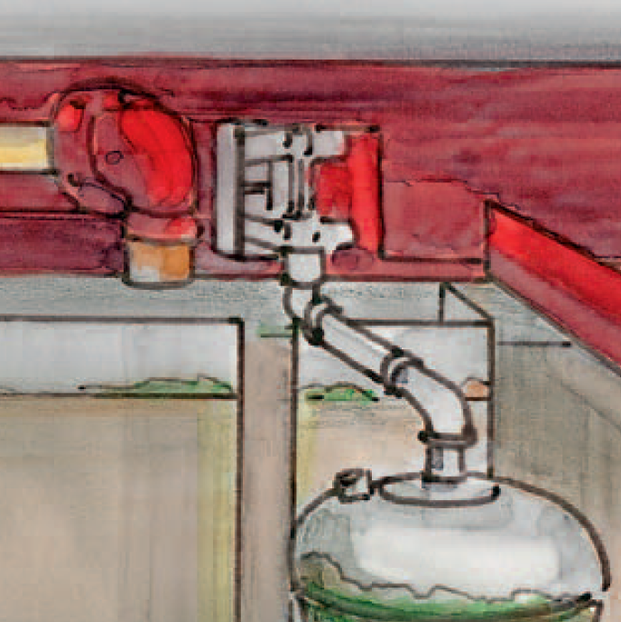 Scope of service for the inspection of water storage containers