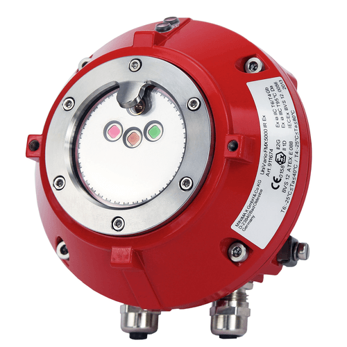 UniVario FMX5000 IR Fire detector with 3 sensors and 3-fold optical test