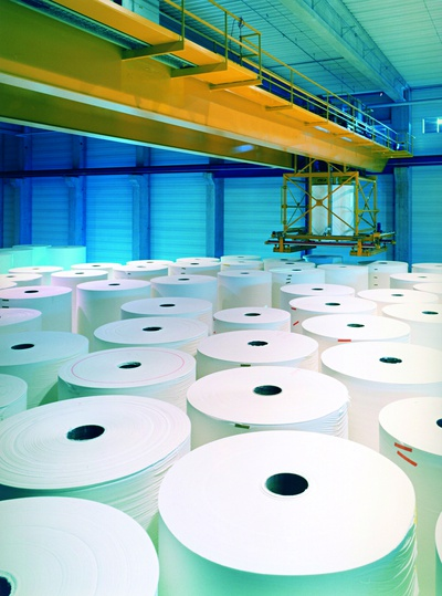Paper roll depots