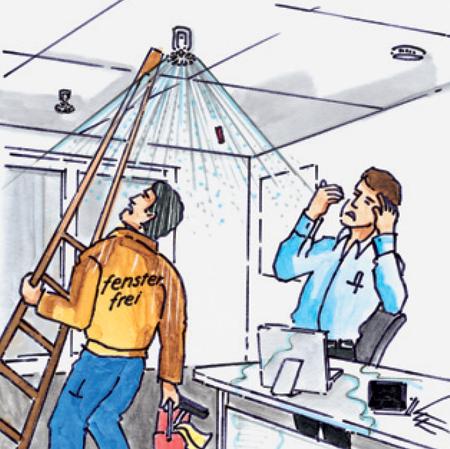 Figure Problems Damage Sprinkler